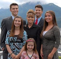 Bristol Palin (Far Right) is Pregnant, Mom Sarah Palin (Center) is the GOP VP