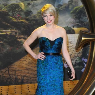 Michelle Williams at the Oz premiere