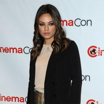 Mila Kunis compares online dating to online shopping.