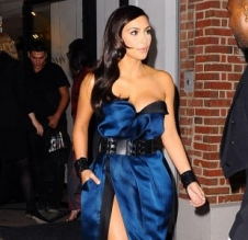 National Ledger - Kim Kardashian West heads to 2014 Met Gala