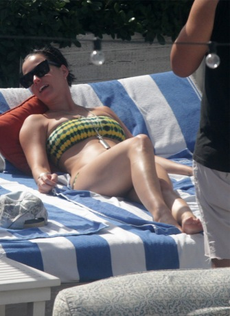 Katy Perry soaks up the sun in Miami.