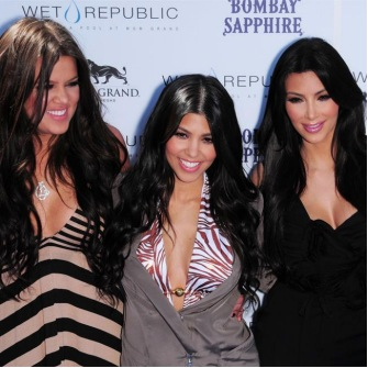 Kim says she and her sisters Kourtney and Khloe have always wanted to work in fashion.