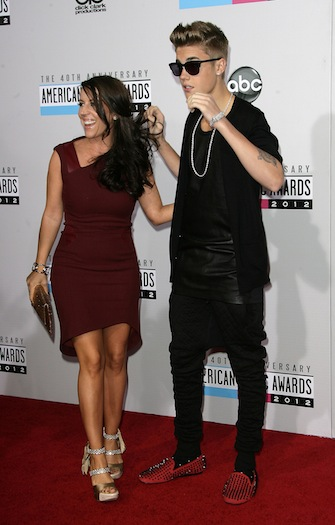 Pattie Mallette - Justin Bieber's Mom is his 2012 American Music Awards date.