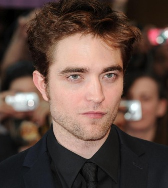 Robert Pattinson looks dreamy.
