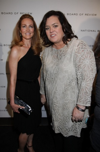Rosie O'Donnell with girlfriend Michelle Rounds.